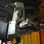 Postazione robot KAWASAKI per saldatura MIG-MAG